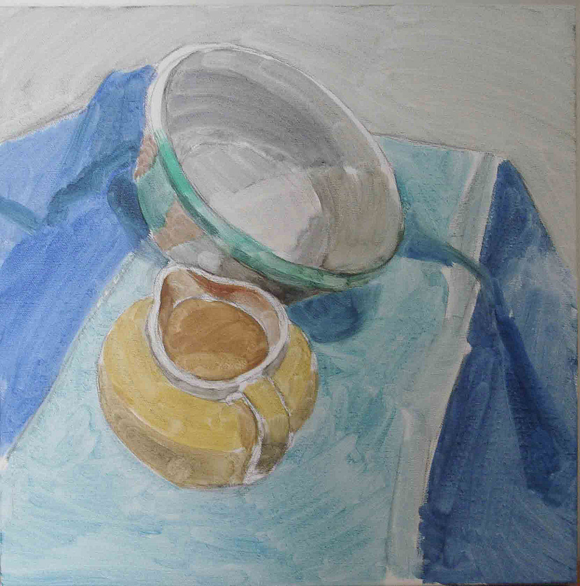 Pottery Still Life #2 Sketch